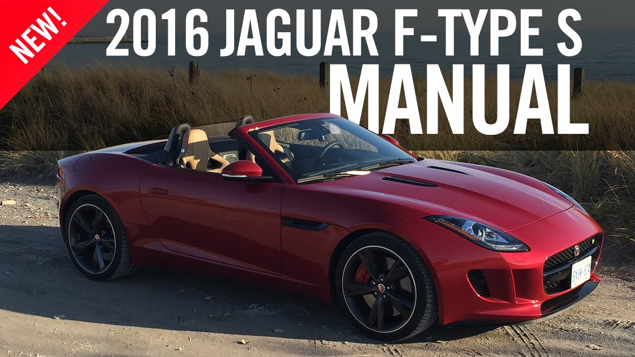 2016 jaguar f type f type s manual convertible review youtube. Black Bedroom Furniture Sets. Home Design Ideas