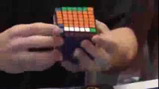 Рекорд по скоростной сборке Кубика Рубика 7х7 -  2:52:09