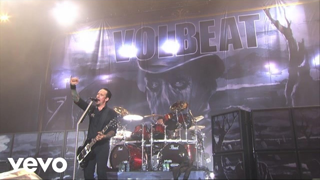 Volbeat Lola Montez Live From Rock Am Ring2013 Youtube