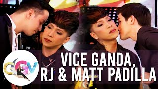 RJ and Matt Padilla take a sniff of Vice scent | GGV