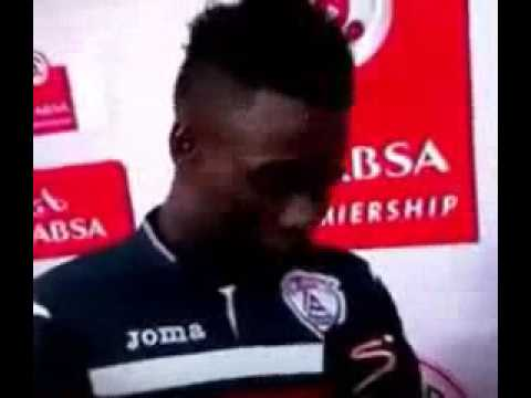 Ghana player Mohammed anas mistakenly thanks his girlfriend on Tv