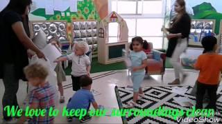 Blossom Burj Nursery - Preschoolers Recycling