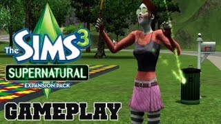 COTV - The Sims 3 Supernatural WITCH Gameplay