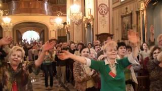 Uwielbienie Jezusa w Sanktuarium w Rychwałdzie o.John Bashobora