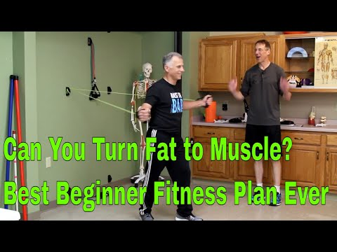 Can You Turn Fat to Muscle? Best Beginner Fitness Plan Ever