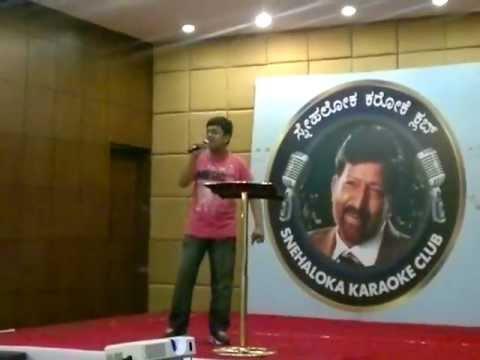 "SLKC Snehaloka Karaoke Club ""SIDHU"" by Aditya Vittal"