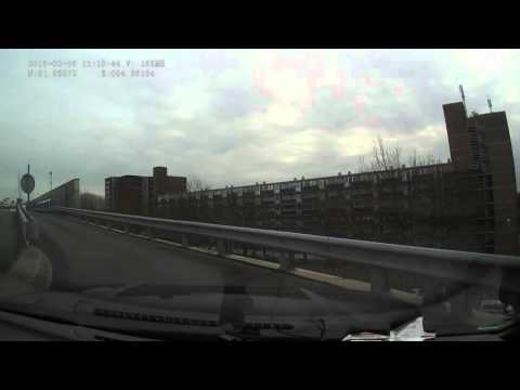 Driving in Rotterdam – parking on top of the Alexandrium shopping center