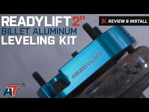 """2004-2014 F150 ReadyLIFT 2"""" Billet Aluminum Leveling Kit Review & Install"""