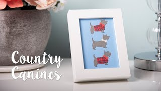 How to Make Country Canines Photo Frame - Sizzix Lifestyle