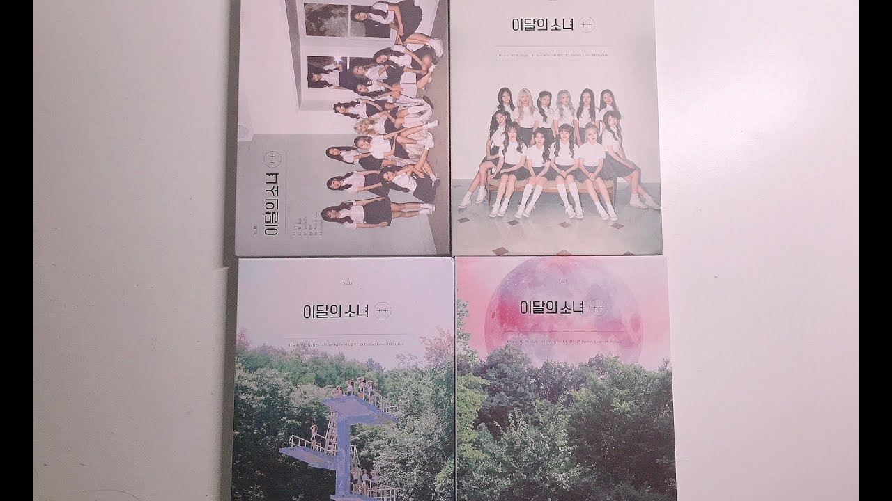 [ UNBOXING ] LOONA 이달의 소녀 ++ Albums (All 4 Versions)