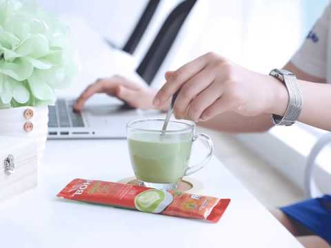 Cinemagraph: BOH Tea Malaysia - Green Tea Latte