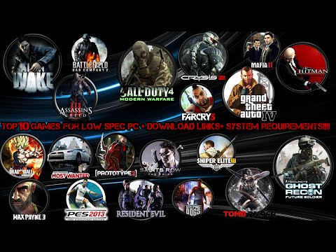 Top 10 Games For Low Spec Pc + Download Links+ System Requirements!!!!