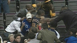 Malice At The Palace - Pistons vs Pacers 2004 | The Worst Night In NBA History | NBA Highlights HD