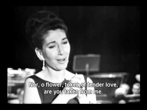 Maria Callas   Oh! se una volta sola Ah, non credea mirarti, Vincenzo Bellini 1965
