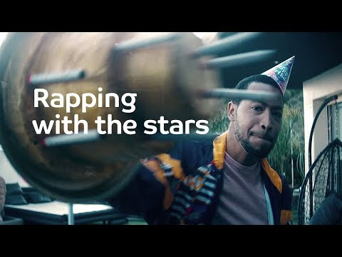 Rapping with the stars: Backstage at #GameON