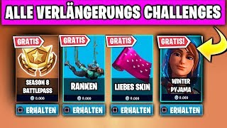 Free Items 🎁💧 Visits Waterfalls | Fortnite Extension Challenge German