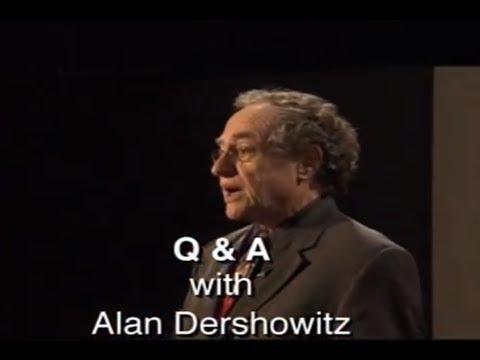The Case For Israel: Prof. Alan Dershowitz Q\u0026A
