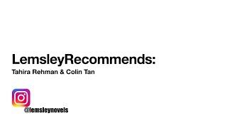 Lemsley Recommends #1: Tahirarehmanpoet & Juxtaproser