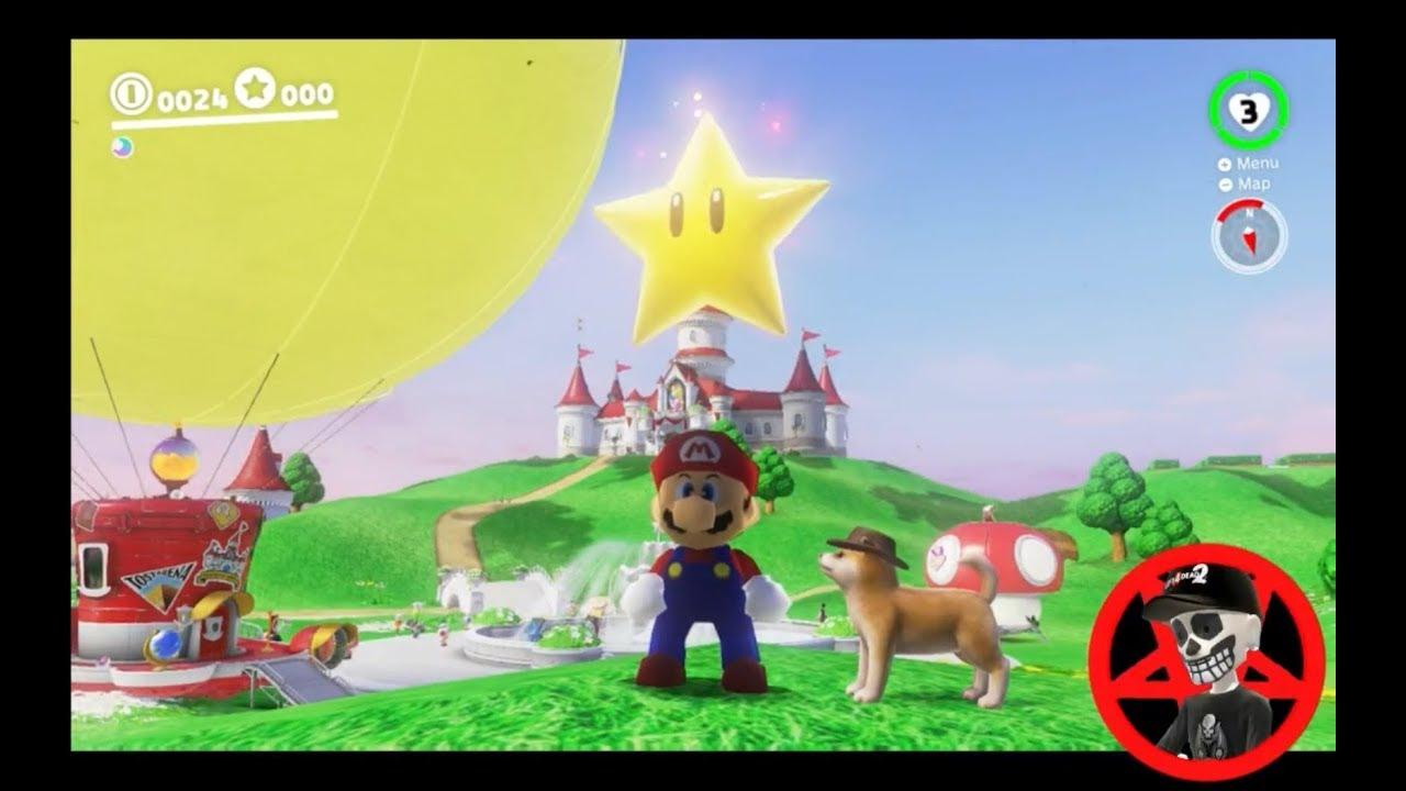 Super Mario Odyssey Guide Mushroom Kingdom Power Moon 10 Youtube