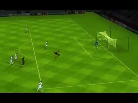 Messi 39 s bicycle kick from neymar 39 s assist on fifa 14 elche cf vs fc barcelona youtube - Messi bicycle kick assist ...