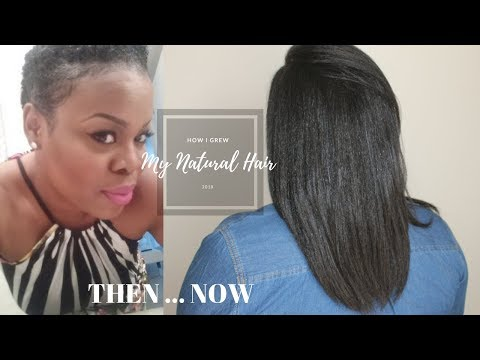 How I Grew My Natural Hair 2018 Update | SimplYounique