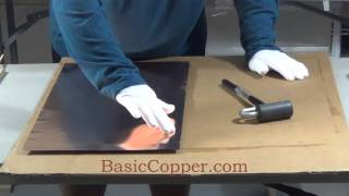 How to make a Copper Bar Top, Counter Top or Table Top