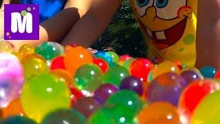 ORBEEZ сюрпризы игрушки с разноцветными шариками Орбиз Challenge surprise toys unboxing