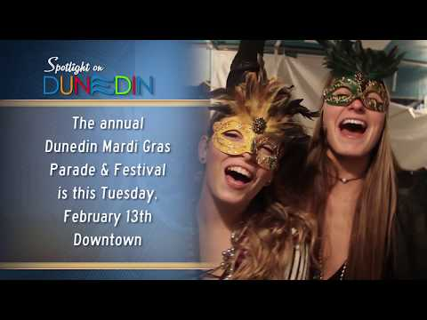 Dunedin Mardi Gras is Fat Tuesday, February 13, 2018!