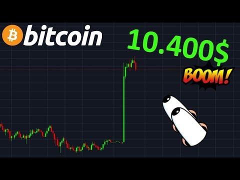 BITCOIN 10.400$ PUMP ÉNORME  !? btc analyse technique crypto monnaie