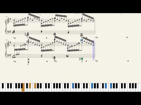 Liszt, Transcendental Études No. 6, S.139. [Piano Tutorial + Sheets]