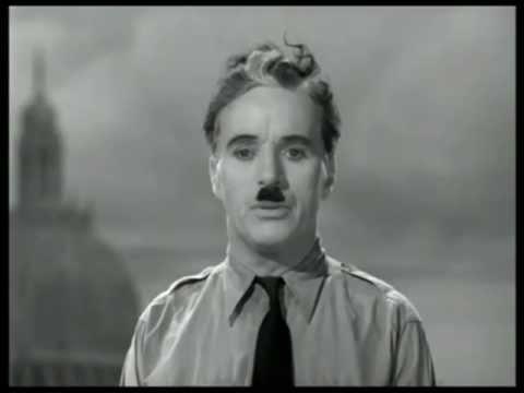 Charles Chaplins Rede an die Menschheit