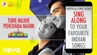 Tune Mujhe Pehchana Nahin - Raju Chacha|Official Bollywood Lyrics|Shaan