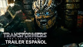 transformers 5 el ltimo caballero trailer espaol latino 2017 the last knight