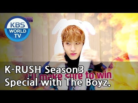 Year-End Special With THE BOYZ! [KBS World Idol Show K-RUSH3 / ENG,CHN / 2018.12.28]