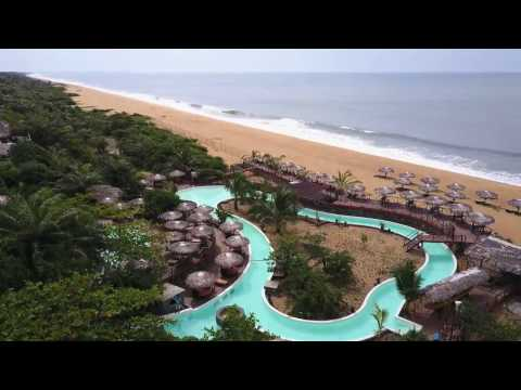 Libassa Ecolodge in Liberia (West Africa) - One-shot flyover