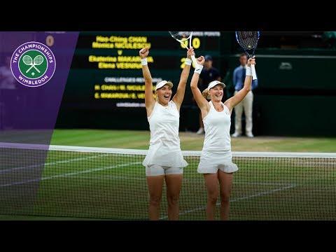 Makarova & Vesnina win Wimbledon 2017 ladies' doubles title