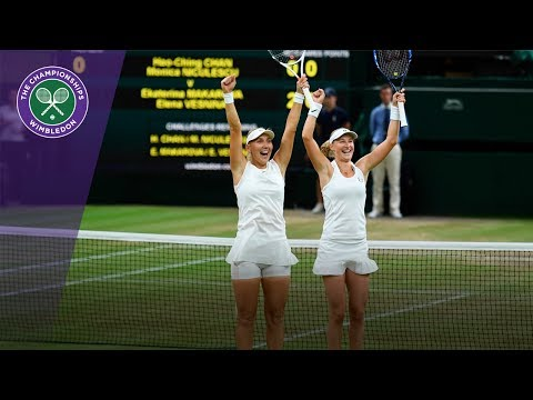 Makarova & Vesnina win Wimbledon 2017 ladies' doubles title