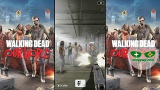 The Walking Dead: Our World (Android iOS APK) - Location-Based Games Gameplay