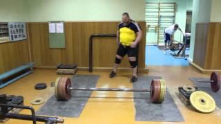 200 кг на стронгменовском акселе - А. Серебряков