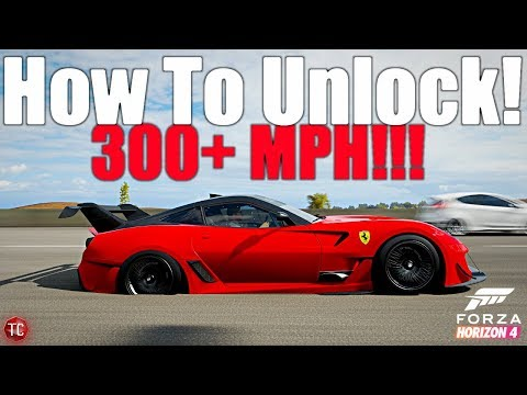 Forza Horizon 4 This Car Goes Over 300 Mph How To Unlock The