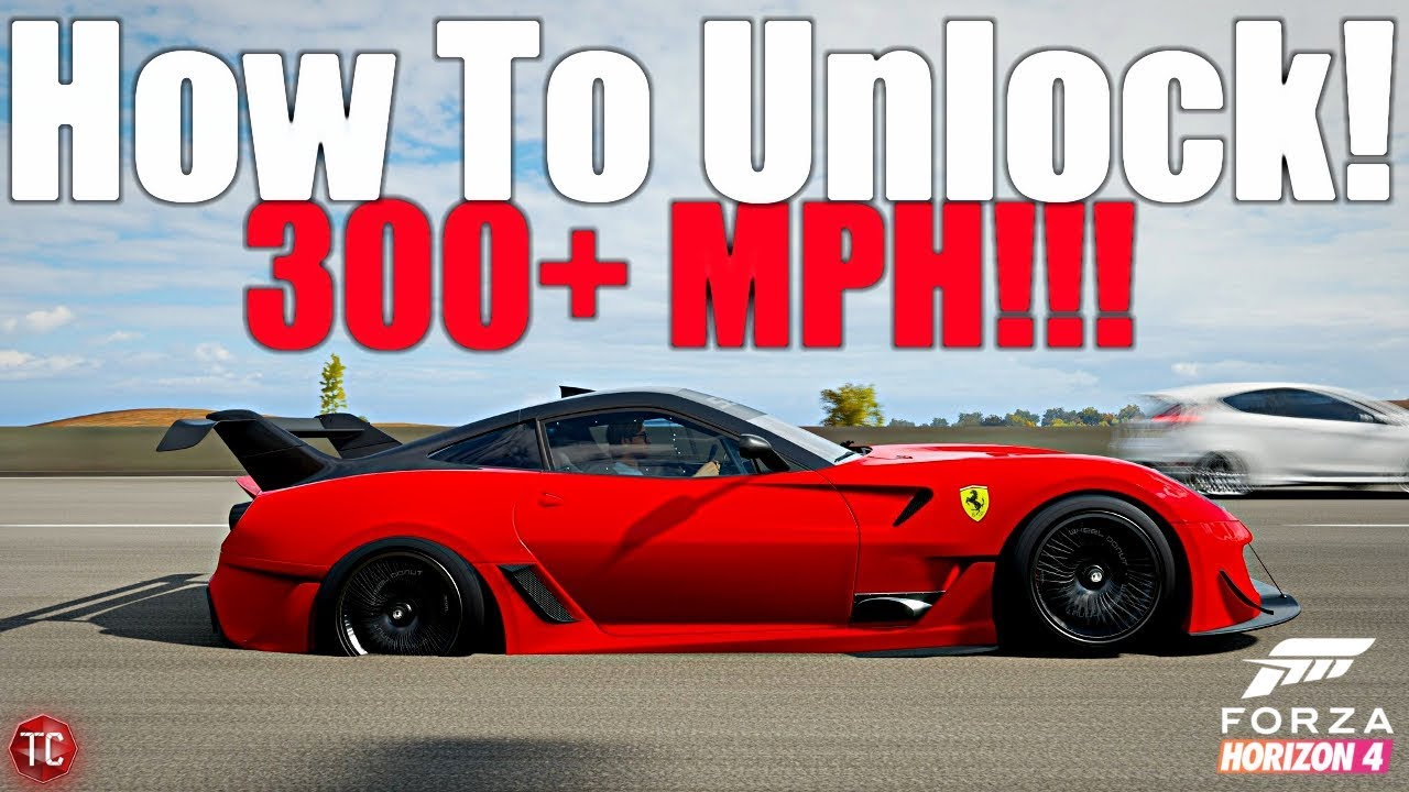 Forza Horizon 4 This Car Goes Over 300 Mph How To Unlock The Ferrari 599xx Evo Youtube