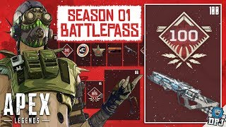 Apex Legends: Battle Pass Level 100 REWARD / All Battle-Pass Rewards - Tier 1-100 - All New Details