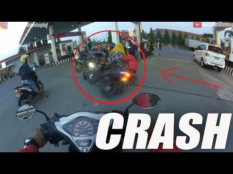IBU IBU CRASH !! HATI HATI KALO BAWA ANAK KECIL