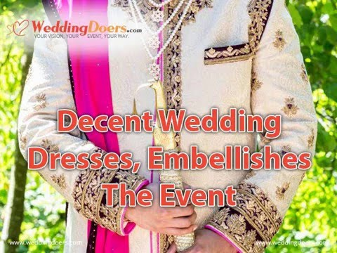 Decent Wedding Dresses, Embellishes The Event