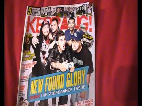 Kerrang! Music Magazine Front Cover Video Analysis