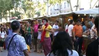 Clown Durilov - vol 2 - Barcelona street laugh attack Documentary Movie