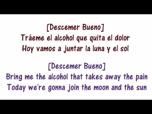 Enrique Iglesias - SUBEME LA RADIO - Lyrics English and Spanish - Turn up the Radio - Translation