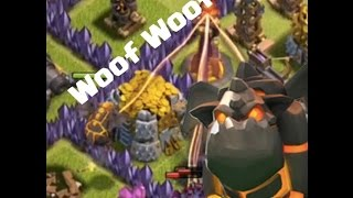 Max Lava Hound Max Loons Max Minions in Clash of Clans