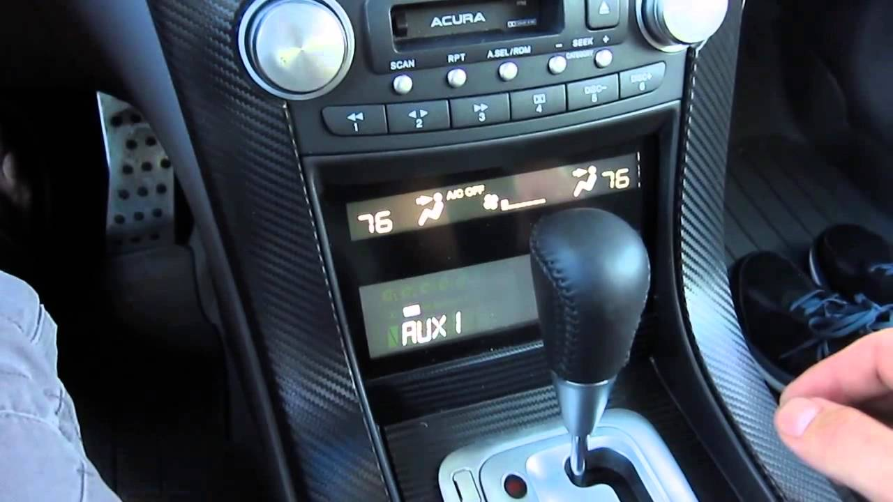 usb rom 05 acura tl youtube