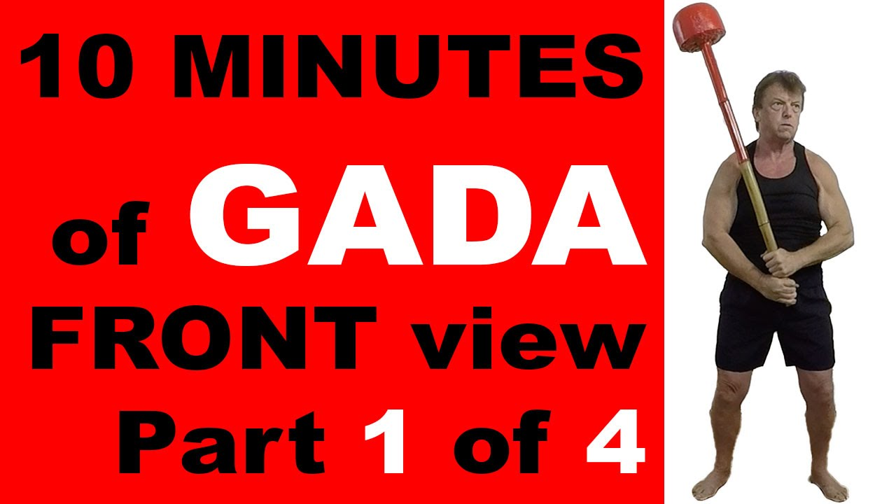Indian Clubs | 10 MINUTE GADA Front View | Part 1 of 4